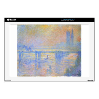 Puente cruzado de Charing de Claude Monet 43,2cm Portátil Calcomanías