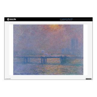 Puente cruzado de Charing, el Thames de Claude Calcomanía Para 43,2cm Portátil