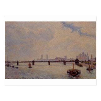 Puente cruzado de Charing, Londres de Camille Postal