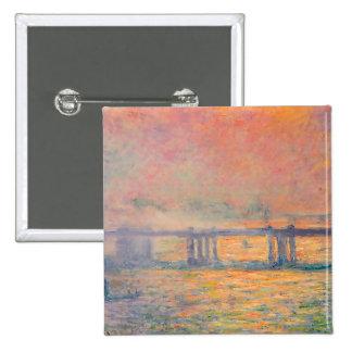 Puente cruzado de Claude Monet Charing