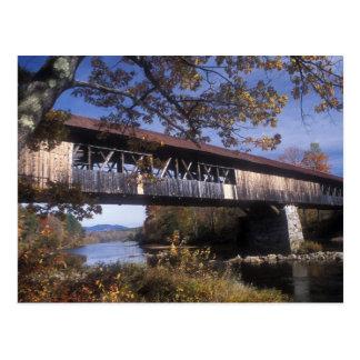 Puente cubierto Campton New Hampshire de Blair Tarjetas Postales