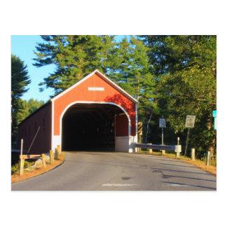 Puente cubierto Cresson Swanzey NH Tarjetas Postales