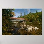 Puente cubierto de Albany, impresión del NH Impresiones
