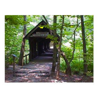 Puente cubierto de Cambron, el condado de Madison, Tarjetas Postales