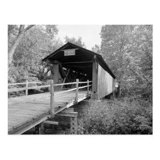 Puente cubierto de Milton Postales