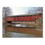 Puente cubierto de Schnecksville Postal
