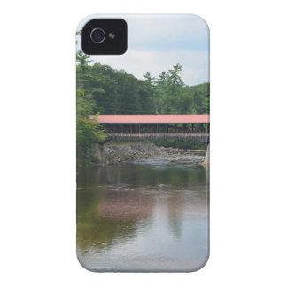 Puente cubierto del norte de Conway iPhone 4 Carcasas