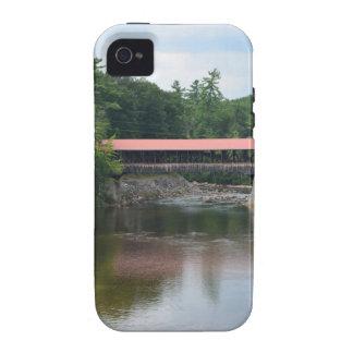 Puente cubierto del norte de Conway Vibe iPhone 4 Funda