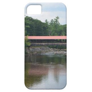 Puente cubierto del norte de Conway iPhone 5 Case-Mate Coberturas