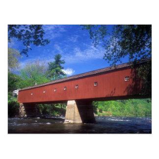 Puente cubierto del oeste de Cornualles Tarjeta Postal
