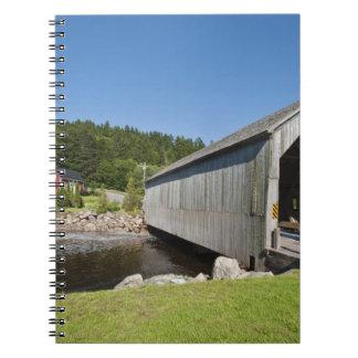 Puente cubierto del río irlandés, St Martins, nuev Libreta
