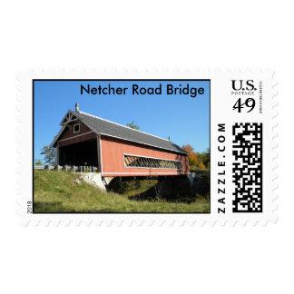 Puente cubierto el condado de Ashtabula Ohio de Ne