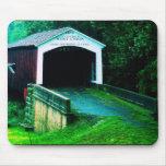 puente cubierto en Indiana Tapete De Ratones