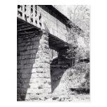 Puente cubierto postal