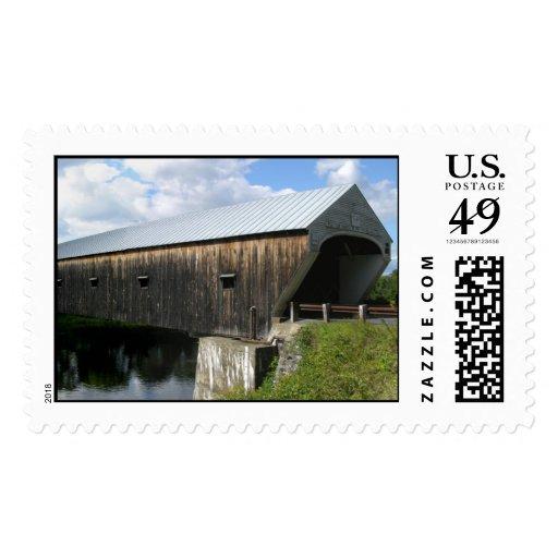 Puente cubierto sellos