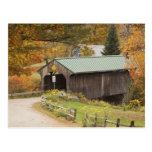 Puente cubierto, Vermont, los E.E.U.U. Postal