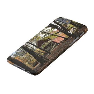 Puente cubierto viejo de Persionalize Funda Barely There iPhone 6