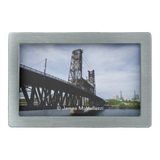 Puente de acero Portland Oregon Hebillas Cinturon Rectangulares