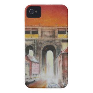 Puente de alto nivel, caso intrépido de Newcastle iPhone 4 Case-Mate Cárcasa