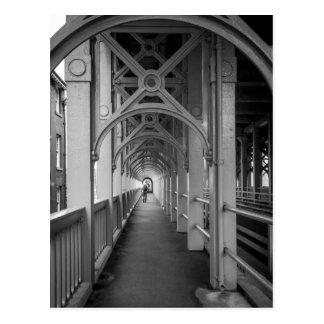 Puente de alto nivel de Stephensons, Newcastle Tarjeta Postal