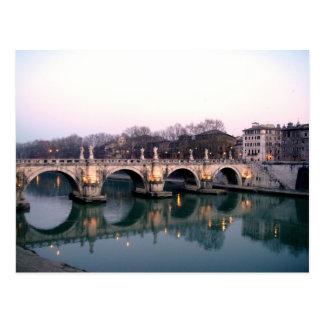 Puente de ángeles postal