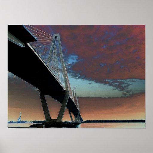 Puente de Arturo Ravenel Poster