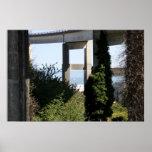 Puente de Astoria-Megler con un velero Posters