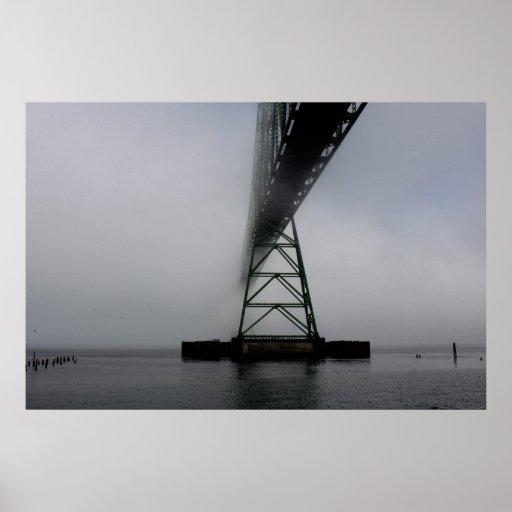 Puente de Astoria Megler Impresiones
