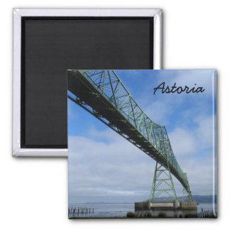 Puente de Astoria-Megler, Oregon Imán Cuadrado