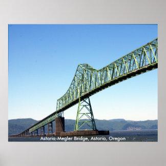 Puente de Astoria-Megler Poster
