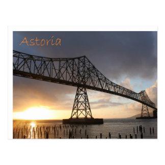 Puente de Astoria-Megler Tarjeta Postal