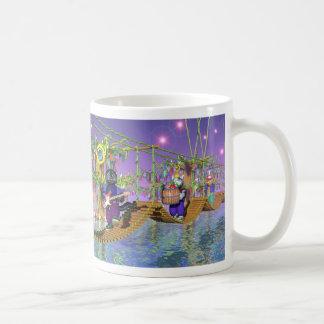 puente de báscula taza de café