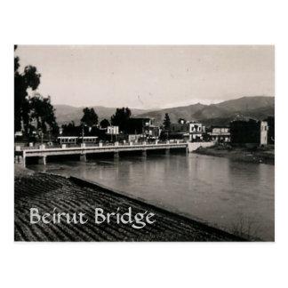 Puente de Beirut Tarjetas Postales