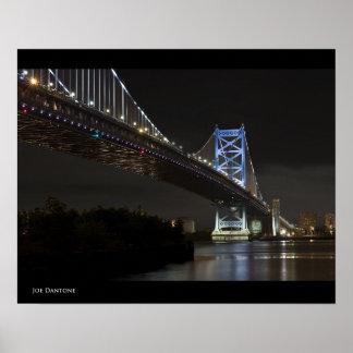 Puente de Ben Franklin Impresiones