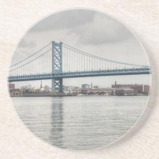 Puente de Ben Franklin Posavasos De Arenisca