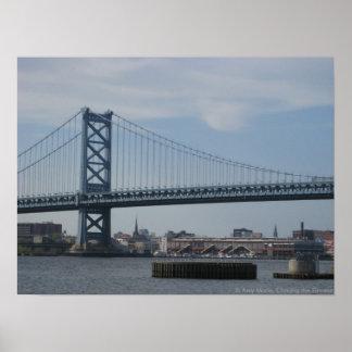 Puente de Ben Franklin Poster