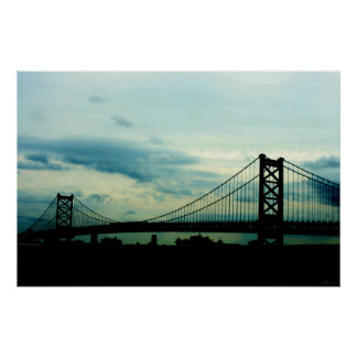 Puente de Ben Franklin Posters