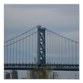 Puente de Benjamin Franklin Poster