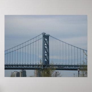 Puente de Benjamin Franklin Posters