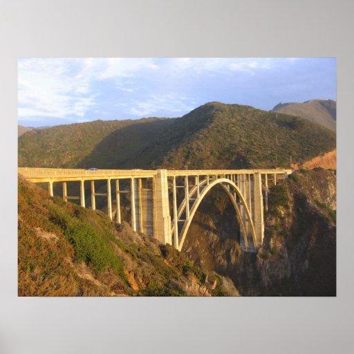 Puente de Bixby Posters
