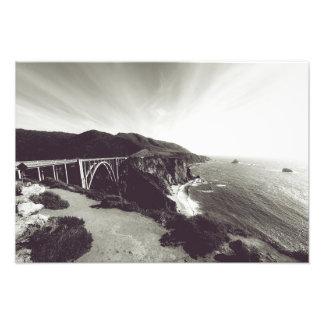 Puente de Bixby, Sur grande, California los Fotografía