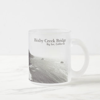 Puente de Bixby, Sur grande, California los Taza Cristal Mate