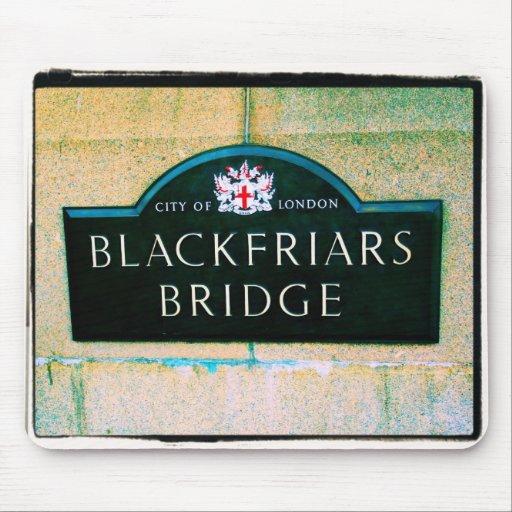 Puente de Blackfriars - ciudad de Londres - Mousep Tapete De Ratón