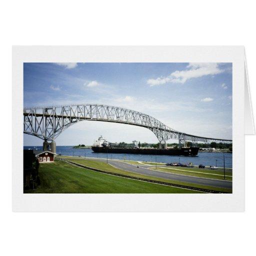 Puente de Bluewater antes de había dos Tarjetas