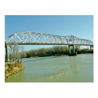 Puente de braguero del hierro tarjetas postales