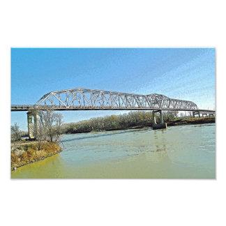 Puente de braguero del río Missouri Cojinete