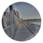 Puente de Bratislava Plato De Comida