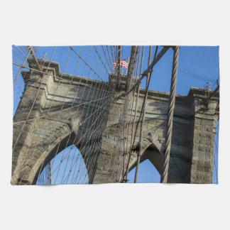 Puente de Brooklyn 02 Toalla De Cocina