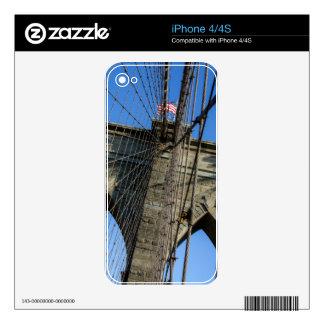 Puente de Brooklyn 02 Skins Para eliPhone 4S