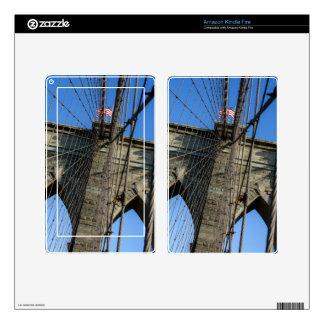 Puente de Brooklyn 02 Skins Para Kindle Fire